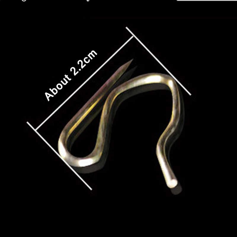 30 PCS Rèm Bút Chì Pleat Móc cho Rèm Cửa Tàu Lượn Hình Dạng Cửa Sổ Rèm Treo Phụ Kiện Rèm Cửa Nhựa Móc CP056-30