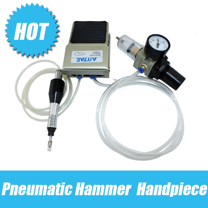 Pneumatic hammer handpiece air drill Pneumatic nail sand machine Pneumatic surface engraving machine goldsmith