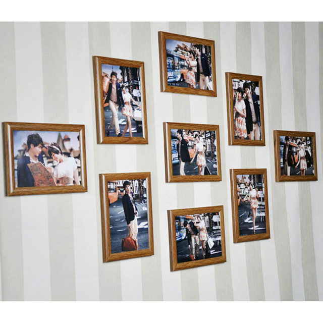 Online Shop Frame Collage Picture Photo Frame Set Wall Hanging ...