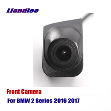 Liandlee Car Front View Camera AUTO CAM Logo Embedded For BMW 2 Series 2016 2017 ( Not Reverse Rear Parking )