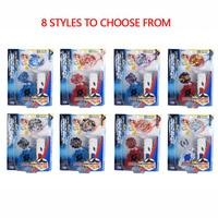 8 Styles Beyblade Burst Toys Fighting Gyro Metal Fusion B34 B35 B48 B42 B66 B59 4D