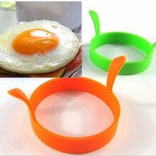 Силиконовая, для яичницы Фрай Frier печь браконьер подставки для яиц блин форма для кольца Кухня кастрюли для варки яйца-пашот инструменты