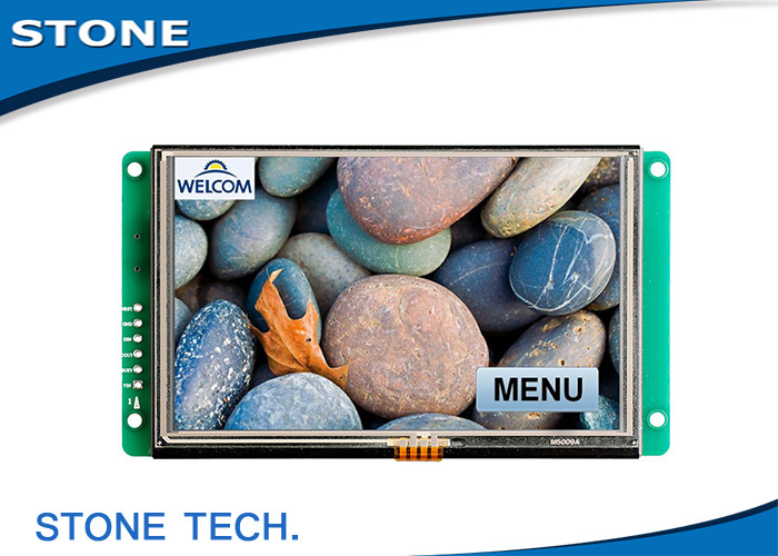 5 Inch TFT LCD Display With Touch Screen For Equipment Use5 Inch TFT LCD Display With Touch Screen For Equipment Use