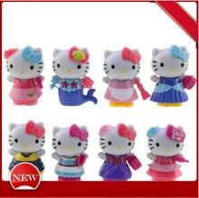 Hello Kitty Hello Kitty 8 KT Cat Hand Car Carton Cake Decoration Decoration Doll термос термочашка hello kitty hellokitty kt 200ml 280ml