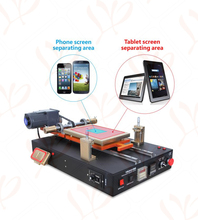LY 949V semi-automatic built-in vacuum pump tablet LCD screen separator with middle frame separating function