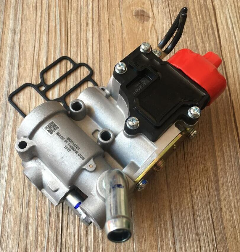 Taiwan brand new idle air control valves MD614701 PW550483 suitable for mitsubishi mirage proton wira 4G15 цена