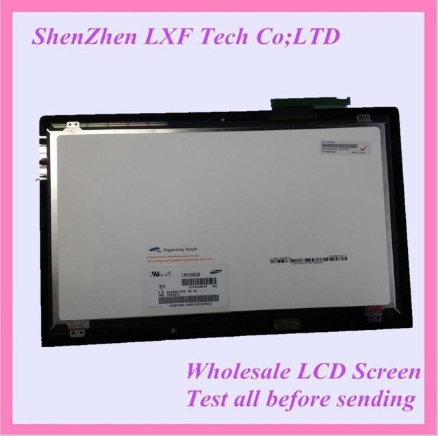A estrenar y original 15.6 '' LCD montaje de la pantalla táctil LTN156HL09-401 asamblea completa para lenovo Y700