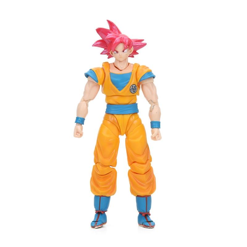 Dragon Ball Z Action Figure Gohan Goku Vegetto Vegeta Trunks Piccolo Freeza 18 with rotating joints 9