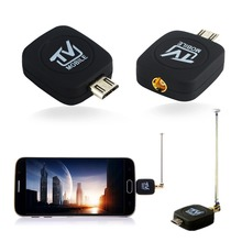 TV Receivers DVB-T Digital Mobile  Android Phone Mini Micro USB TV Tuner Receiver for Android   HDTV Receiving
