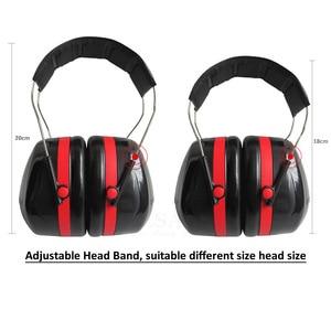 Image 2 - מתקפל ראש אטמי אוזניים נגד רעש אוזן מגן NRR 30dB לעבודה מחקר שינה עץ ירי שמיעה הגנת אוזן בטיחות