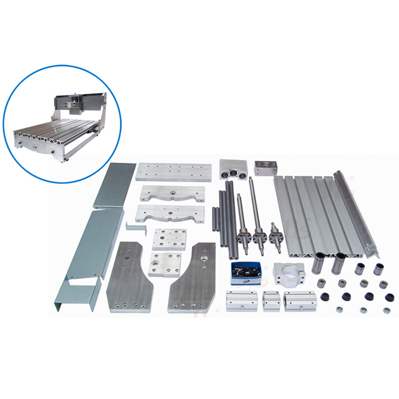 Best price cnc 3040 router mini lathe bed cnc machinery frame new design 3040 cnc frame cnc 3040 mini lathe free tax to ru eu