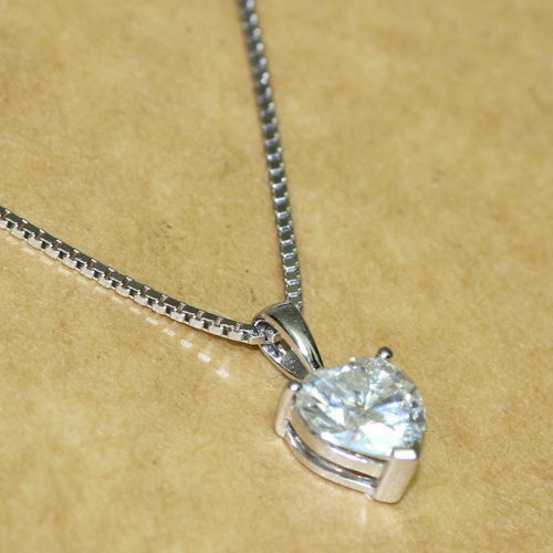 1 carat ct heart shaped solid 14k 585 white gold lab grown 1 carat ct heart shaped solid 14k 585 white gold lab grown moissanite diamond pendant necklace in necklaces from jewelry accessories on aliexpress mozeypictures Choice Image