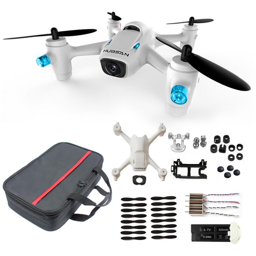 ФОТО Hubsan X4 CAM Plus H107C+ RC Quadcopter with 720P Camera RTF Aluminum Box Handbag Propeller Guard Spare Parts Set F16766-ABCD