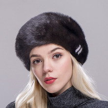 88636776e8501 FXFURS Winter women s hat real natural berets mink fur hats brand new  fashion fur caps female