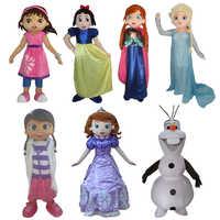 Ascotte Olaf Fantaisie tenue Princesse Robe tenue taille top qualite Halloween film costume Livraison gratuite