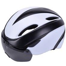 2019 Новые магнитные очки шлем интегрированный велосипедный шлем горный велосипед езда шлем мужчины и женщины шлем