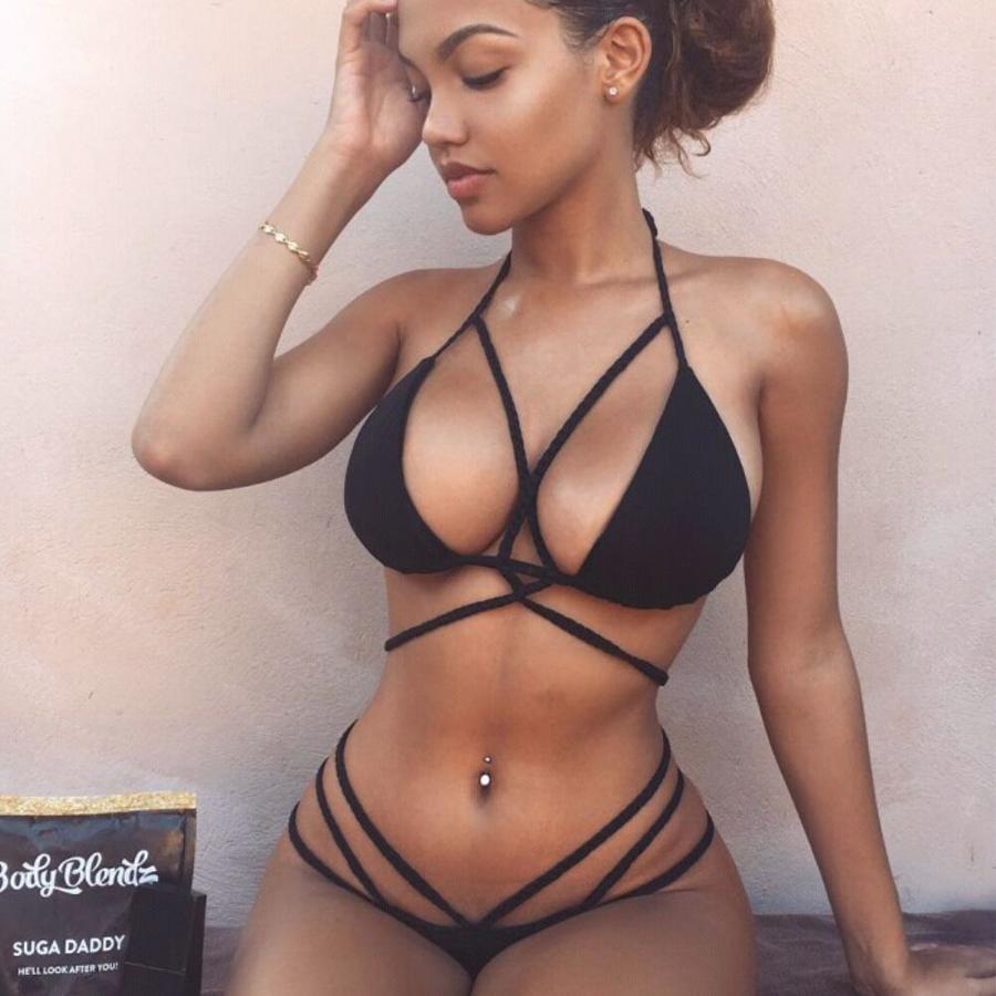 Womens micro thong bikini