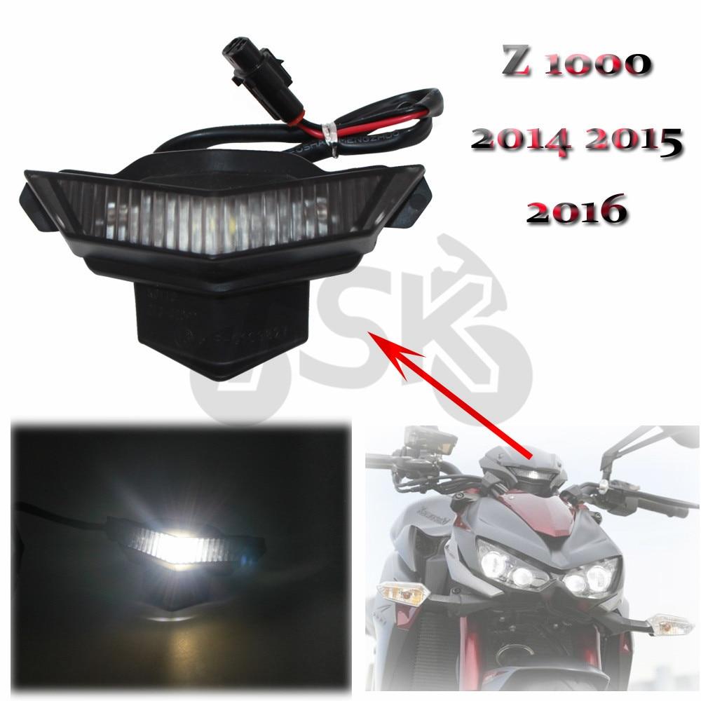 For Kawasaki Z 1000 Z1000 2014 2015 2016 Headlight Headlamp Fog Lamp Front Head Light