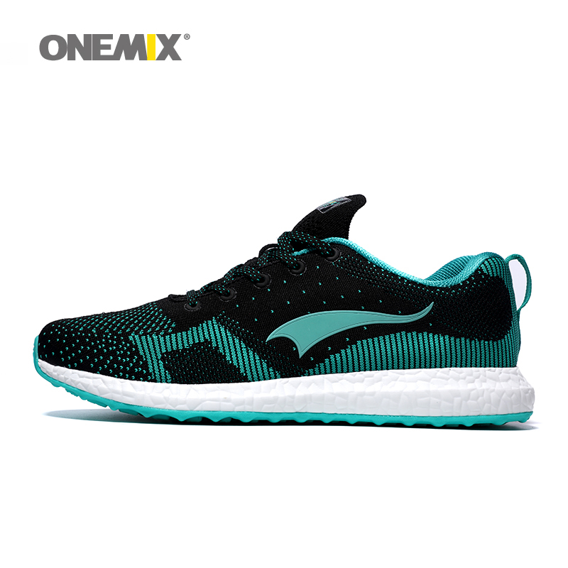 New arrival 2016 Onemix men's running shoes breathable weaving spring sport shoes men's walking shoes free shipping kelme 2016 new children sport running shoes football boots synthetic leather broken nail kids skid wearable shoes breathable 49