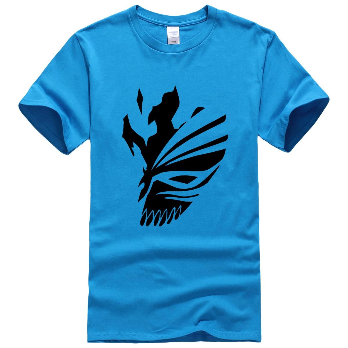 Bleach T-Shirt Anime with Black Print
