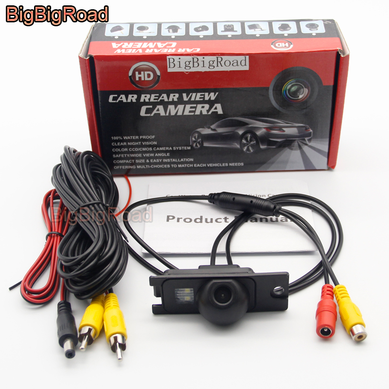 lowest price BigBigRoad For Volvo S80 S60 S60L XC60 XC90 V70 XC70 1999- 2007 2008 2009 Car Rear View Reverse Backup CCD Camera Night Vision