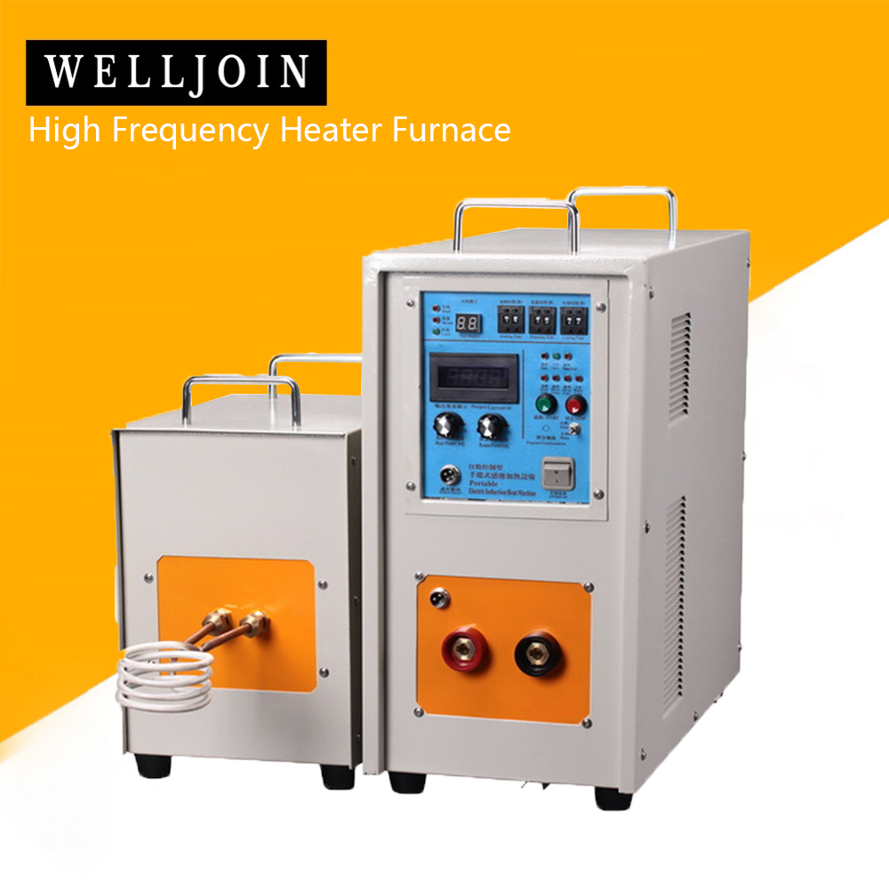 40KW 30-80KHz High Frequency Induction Heater Furnace