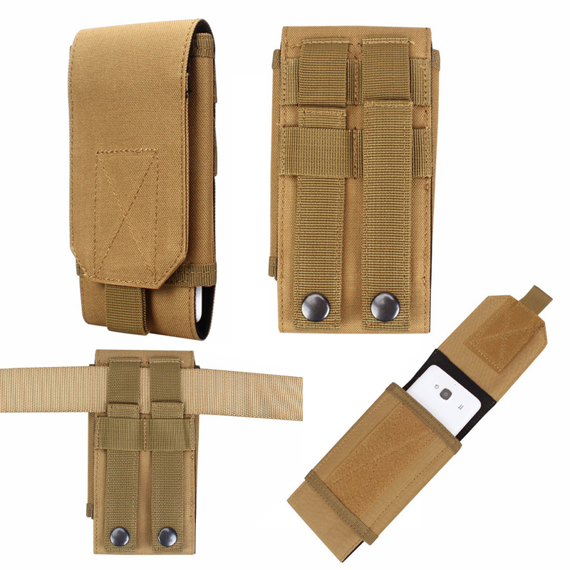 Outdoor Sports Holster Hook Loop Belt Phone Case Cover Bag Pouch For Lenovo P2 / A6600 A6600 Plus / A Plus / K6 K6 Note
