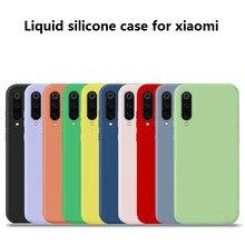 Liquid silicone case for xiaomi redmi K20 K20Pro Multi-color selection TPU 8 8se 9 7 note7 note7pro