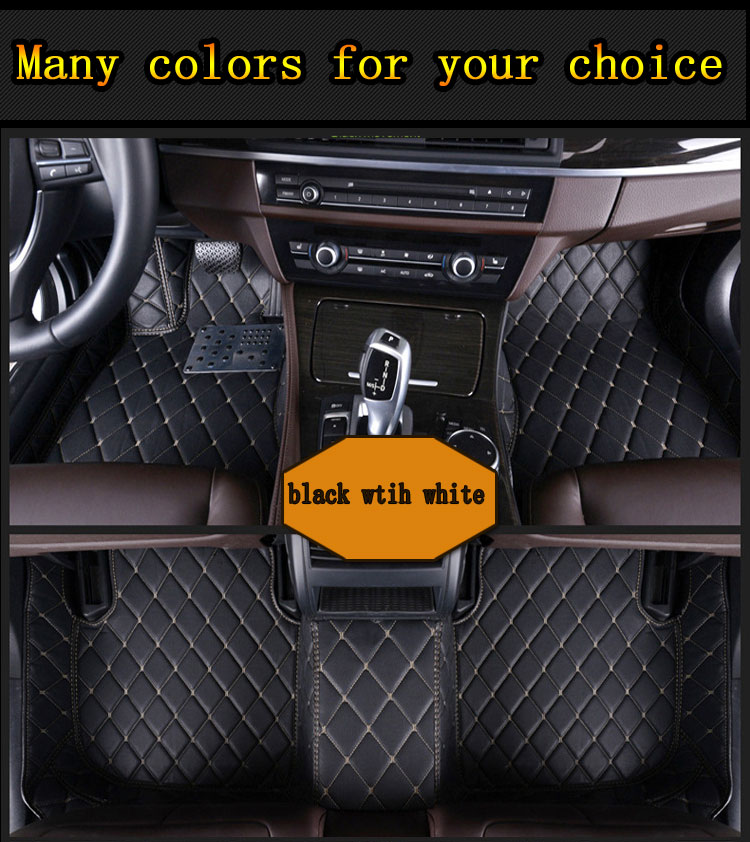 Auto floor mats foot mats foot carpet Custom fit car mat for Mercedes S class W140 C-class all models universal car mats auto floor mats for honda cr v crv 2007 2011 foot carpets step mat high quality brand new embroidery leather mats