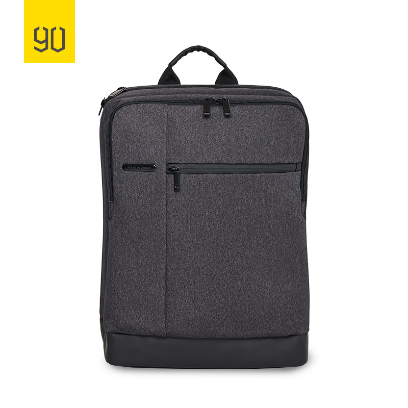 Xiaomi Ecosystem Classic Business Mi Backpack Large Capacity Students Bag Suitable for 15inch Laptop, Dark Grey Light Grey Blue men backpack student school bag for teenager boys large capacity trip backpacks laptop backpack for 15 inches mochila masculina