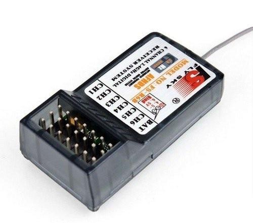 JMT FlySky FS-R6B 2.4GHZ 6-kanalni AFHDS prijemnik za T4B / T6B / - Igračke s daljinskim upravljačem