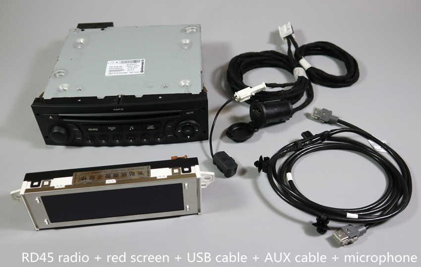 Detail Feedback Questions about Original RD45 Car Radio USB