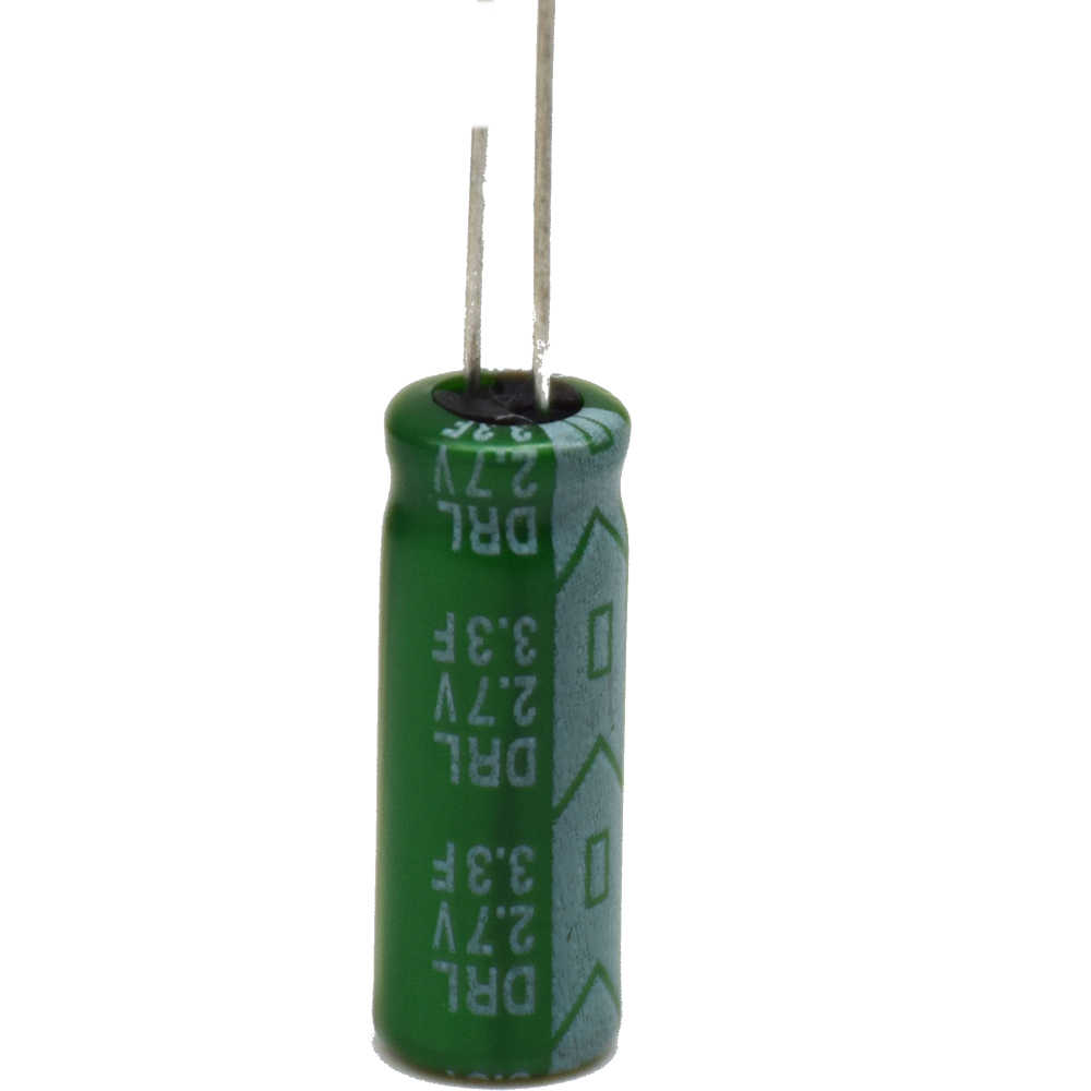 CNIKESIN 3Pcs Ultracapacitor 2 7V 3 3F super capacitor 3 3F 2 7V Farad  capacitor fast charge and discharge Low ESR