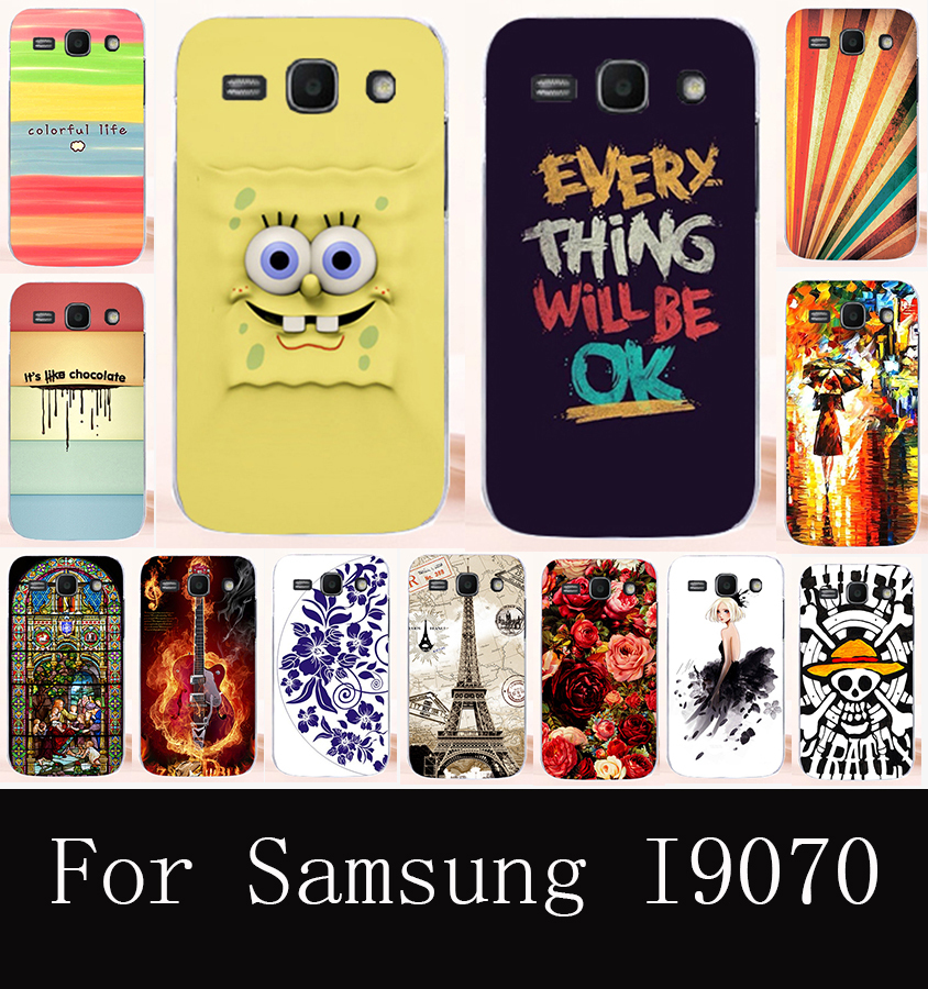 Mobile Phone Cases for Samsung I9070 Case Galaxy S Advance S II Lite GT-I9070 i9070 9070 4.0inch Plastic Back Cover Housing Hood
