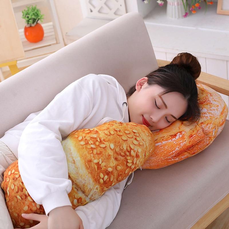 Plush Bread Pillow | Moon Discount