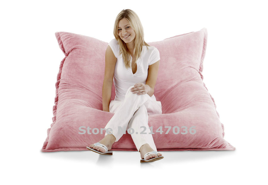 Short Fur SOFT Smoothy XXXXXXL Indoor Bean Bag Chairs Wholesale, Living Room Comfort Beanbag Lounger