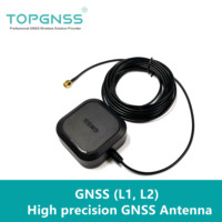 NEW GNSS L1,L2, gnss antenna RTK GPS Antenna SMA J 5M GNSS GPS GLONASS GALILEO antenna for ZED F9P gnss module