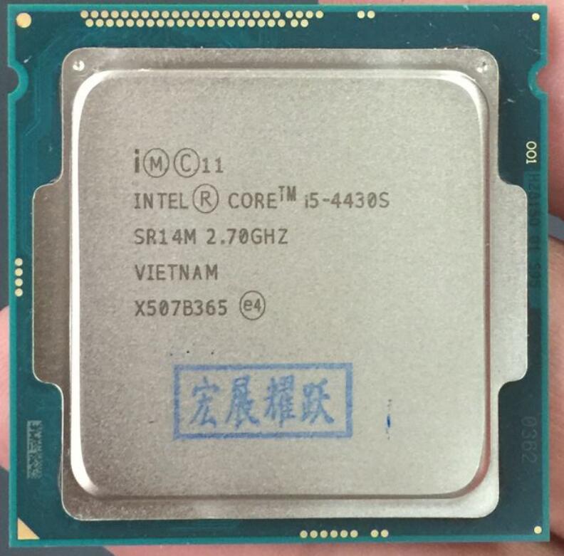 Processeur Intel Core i5-4430S i5 4430 S (Cache 6 M, 2.7 GHz) processeur de bureau LGA1150Processeur Intel Core i5-4430S i5 4430 S (Cache 6 M, 2.7 GHz) processeur de bureau LGA1150