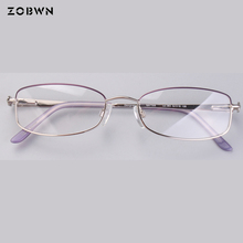 Classic Eye Glasses Frames pattern on temples girls students glasses New Women Computer Frames Eyewear Armacao Oculos De Grau