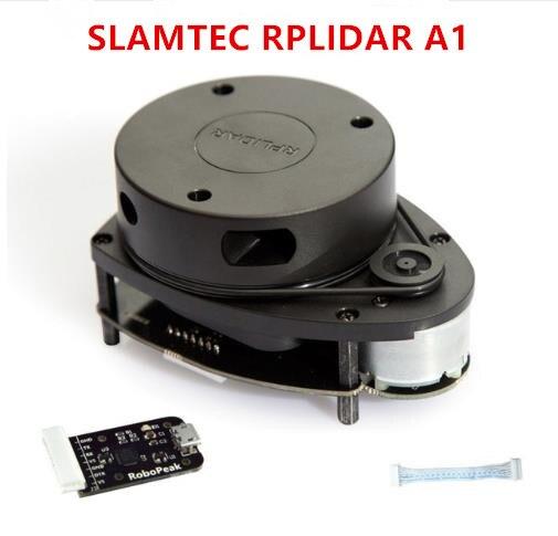 12 متر ليدار RPLIDAR A1 360 درجة ليدار المسح تتراوح نسخة جديدة مطورة من دائرة نصف قطرها 12 متر