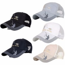 df650f5e7c3 High Quality Unisex Men Women Adjustable Fishing Cap Snapback Golf Sports  Hat Sun Visor(China