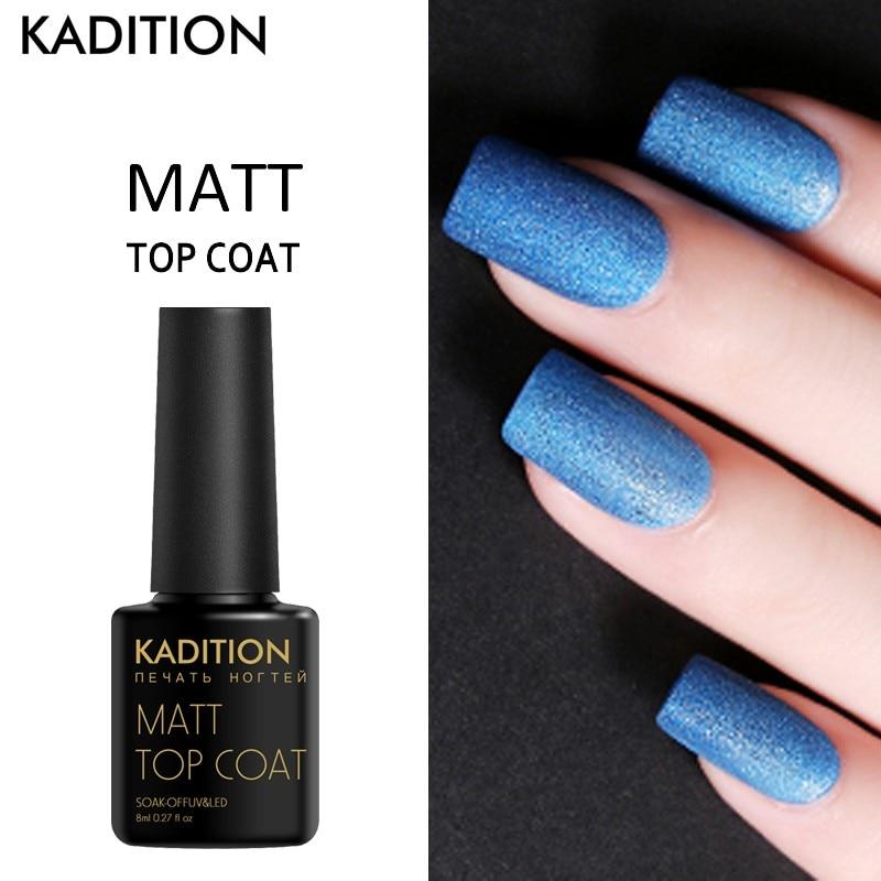 KADITION Cleaning Matt Top Coat UV Varnish Nail Primer ...