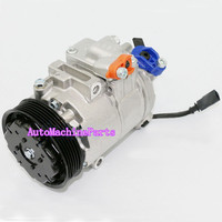 Holdwell Air Conditioning Compressor 6Q0820808F Refrigerant Compressor R134A for Audi Volkswagen VW Seat Skoda
