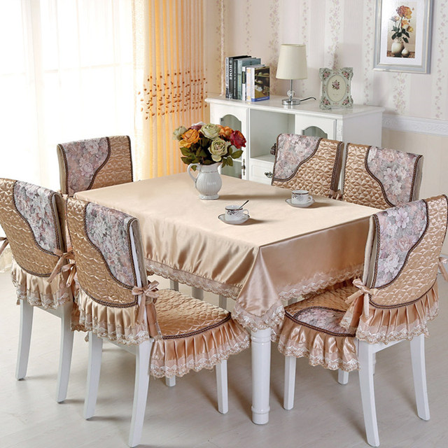 aliexpress com buy 9pcs set pastoral style rectangle table cloth rh aliexpress com glass table covers dining room table dining room table corner covers