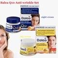 Germany Balea Q10 Anti-wrinkle Day Cream+Night Cream VitaminE Cream Reduce wrinkles fine lines SkinCare regeneration cream Vegan