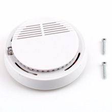 85dB Fire Smoke Photoelectric Sensor Detector Monitor Home Security System for Family Guard Office building Restaurant
