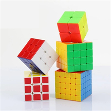 New Neo Puzzles Kids Antistress Fun Educational Toys Speed Cube Magic Cubes Puzzle Mini Plastic Cube 3x3x3 Mini 70B1009