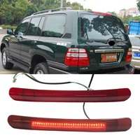 LED additional Brake Lights brake lamp CAR STYLING vehicle alarm light fit for land cruiser lc100 fj100 4500 4700 lx470 1998 07