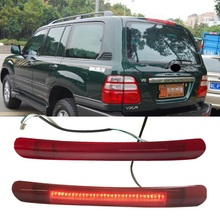 LED additional Brake Lights brake lamp CAR STYLING vehicle alarm light fit for land cruiser lc100 fj