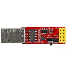 USB to ESP8266 ESP-01 Wi-Fi Adapter Module w/ CH340G Driver Serial Wireless Adapter Debugging Firmware Programming for Arduino